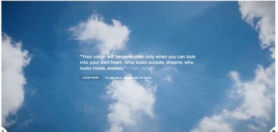 screenshot dal sito